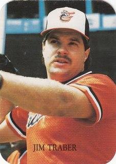 Jim Traber American baseball player