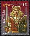19951115 16sant Latvia Postage Stamp.jpg