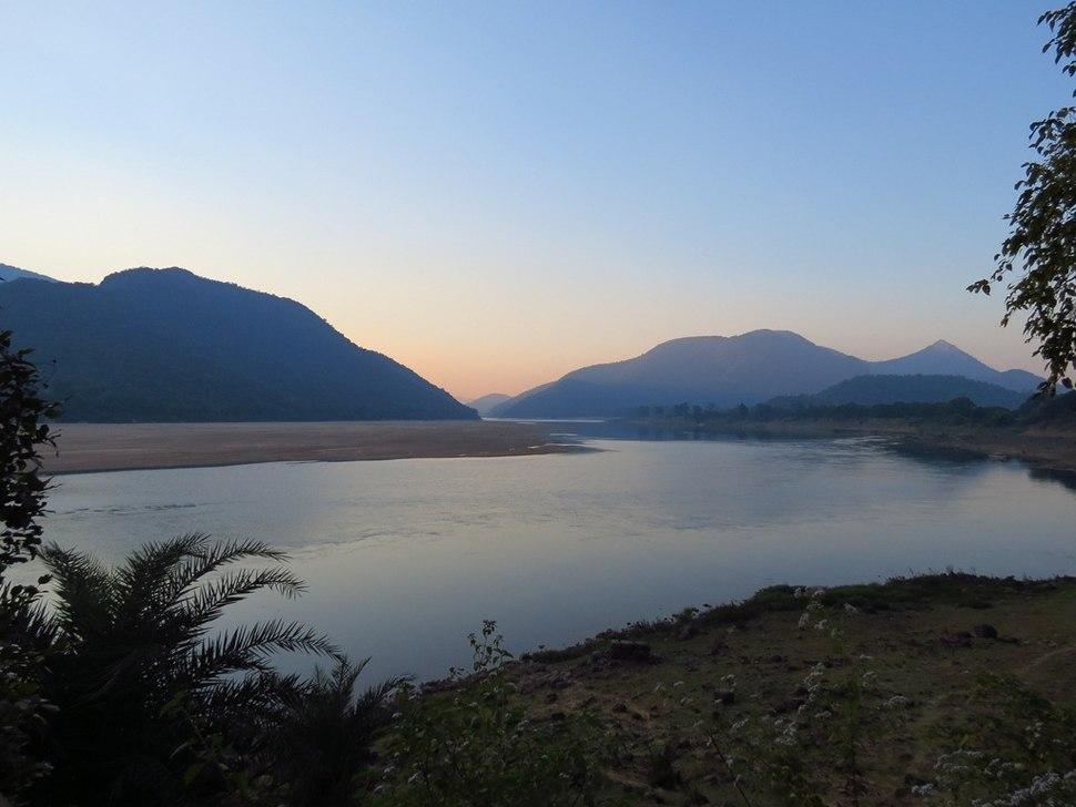 1 Mahanadi River near Satkosia Tiger Reserve Tikarpara India 2012