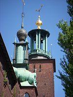 Stockholms Stadshus tårne