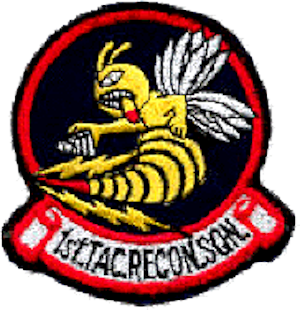21st Expeditionary Reconnaissance Squadron - Later 1st Tactical Reconnaissance Squadron Patch