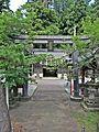 1st Torii gate of Idate-jinja shrine.JPG