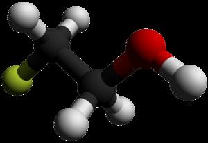 2-Fluoroethanol - Image: 2 Fluoroethanol 3D balls by AHRLS 2012