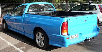 Ford Falcon (BF) - Image: 2005 Ford Falcon (BF) XR6 Turbo utility (2009 02 05)