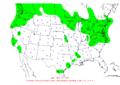 2007-11-10 24-hr Precipitation Map NOAA.png