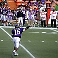 2007 Hawaii Bowl - Boise State University vs East Carolina University - Patrick Pinkney passing.jpg