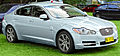 2008-2009 Jaguar XF (X250) Luxury sedan (2011-10-31).jpg