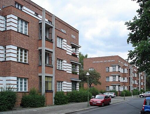 20080715 14995 DSC01768 Siedlung Schillerpark Bristolstraße 5 bis 11