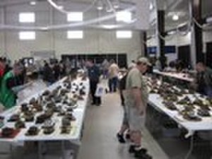 Armor Modeling and Preservation Society - The model display area at the 2008 AMPS International convention.