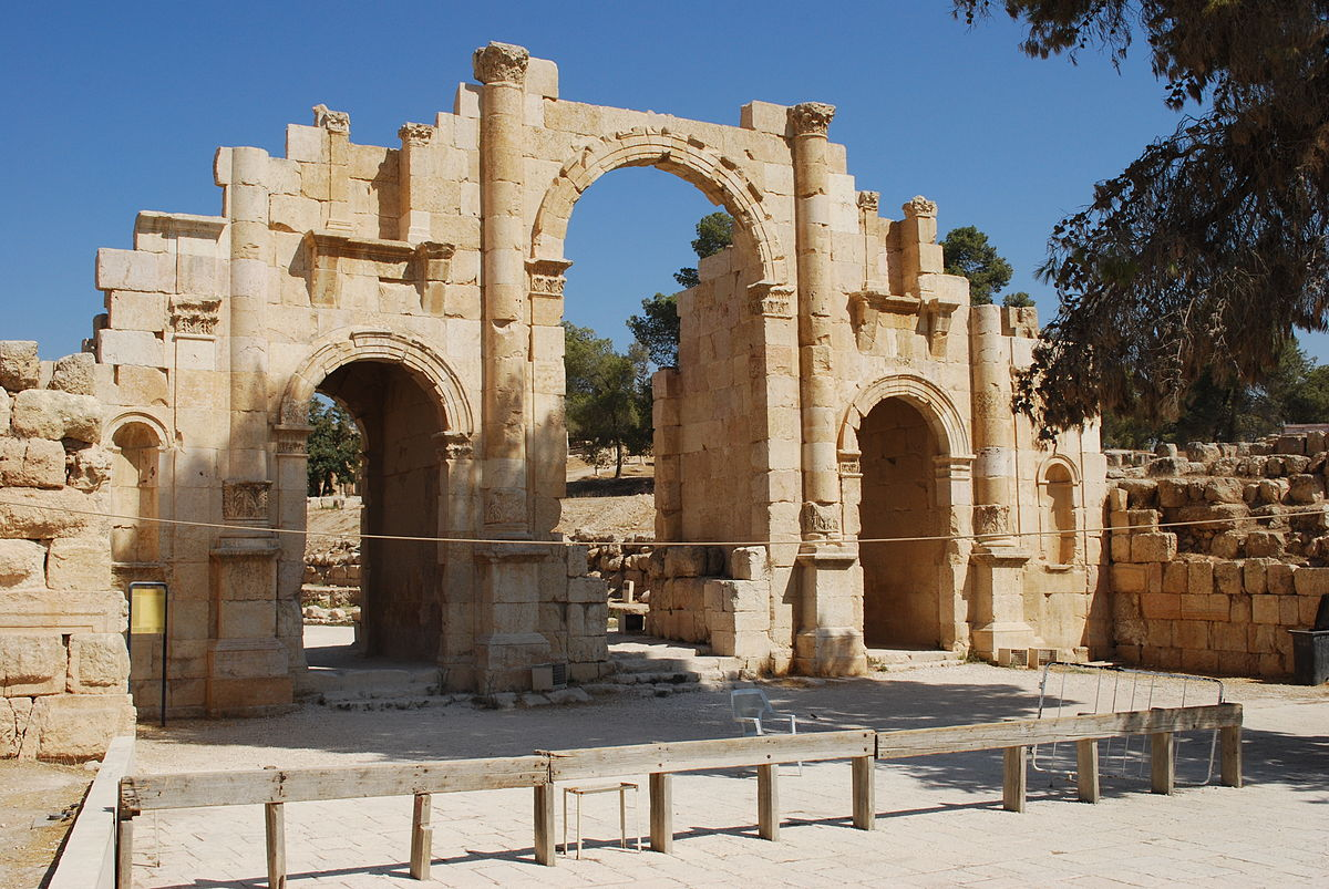 City Of South Gate >> Jerash – Travel guide at Wikivoyage