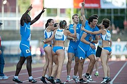 2011 Italian relay team U23 (male and female).jpg