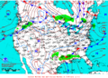 2012-01-10 Surface Weather Map NOAA.png