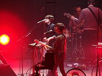 2012 - The Killers (Newcastle Metro Radio Arena) Tegan and Sara (8158820336).jpg
