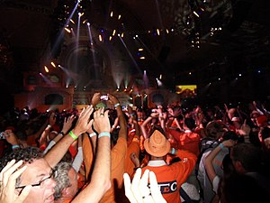 2012 Holland Heineken House - Party in the big hall