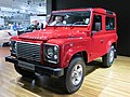 2012 Land Rover Defender 90 (L316 MY12) 3-door wagon (2012-10-26) 01.jpg