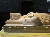 2012 Roncesvalles 17 Sepulcro de Sancho VII.JPG