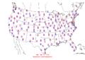 2013-09-11 Max-min Temperature Map NOAA.png