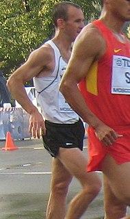 Quentin Rew New Zealand racewalker