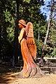 2013 Peace Angel, Artist, Jeff Turpin, St Joseph Catholic Cemetery,Foresthill, CA - panoramio.jpg