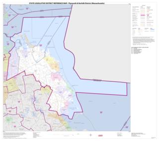 Massachusetts Senates Plymouth and Norfolk district American legislative district
