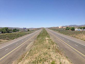 Carlin, Nevada - I-80 in Carlin