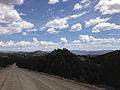 2014-07-30 12 11 14 View east from Manhattan Road in the Toquima Mountains east of Manhattan, Nevada.JPG