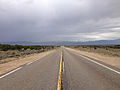 2014-08-11 11 15 24 View west along U.S. Route 50 about 22.5 miles east of the Eureka County line in White Pine County, Nevada.JPG