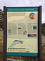 2014-08-11 16 58 54 Sign describing trails in Cave Lake State Park.JPG
