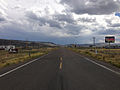 2014-08-19 14 36 55 View south at the south end of Idaho State Highway 51 and the north end of Nevada State Route 225 (Mountain City Highway) near Owyhee, Nevada.JPG