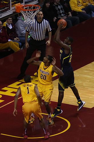 Caris LeVert - LeVert in the 2013–14 Big Ten season opener against Minnesota