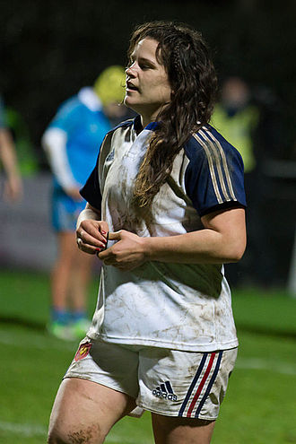 Lise Arricastre - Image: 2014 Women's Six Nations Championship France Italy (161)
