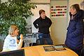 2015-02-10 im Wikipedia-Büro Hannover, Ingrid Lange, Gil-Maria Koebberling, Sigrid Kluge.jpg