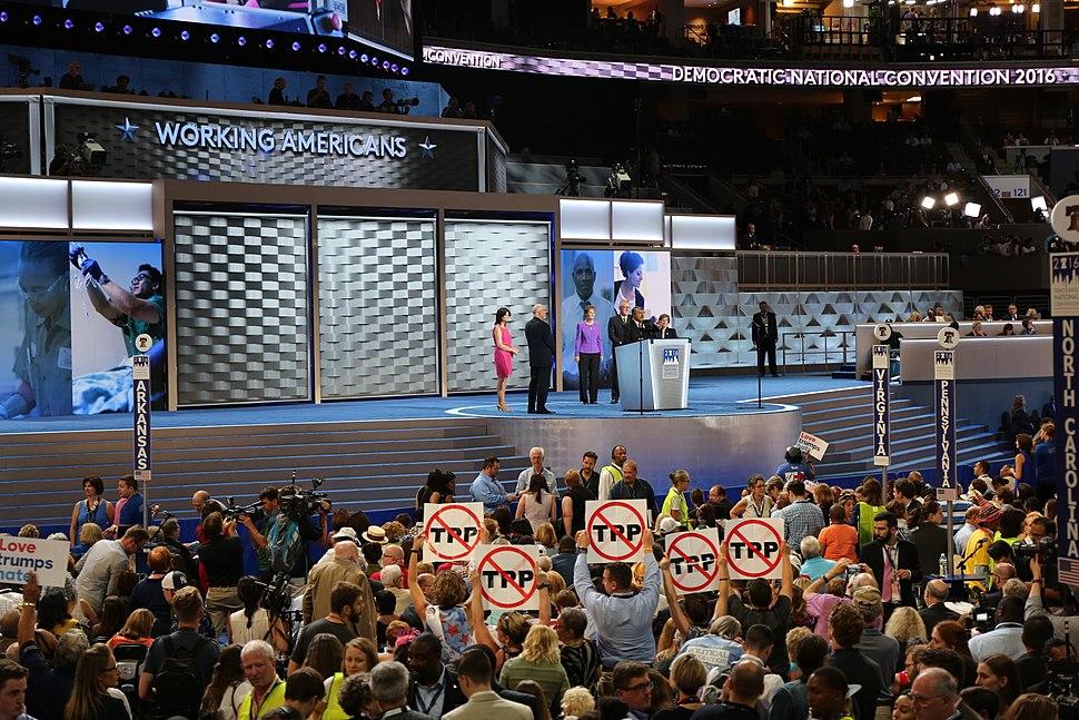 2016 DNC convention floor