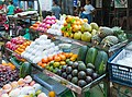 2016 Rangun, Ulica Old Yay Tar Shay, Stoiska z jedzeniem (10).jpg