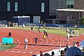 2017 Lone Star Conference Outdoor Track and Field Championships 04 (men's 400m relay finals).jpg