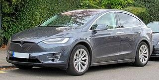 Tesla Model X Full-size crossover utility vehicle developed by Tesla Motors