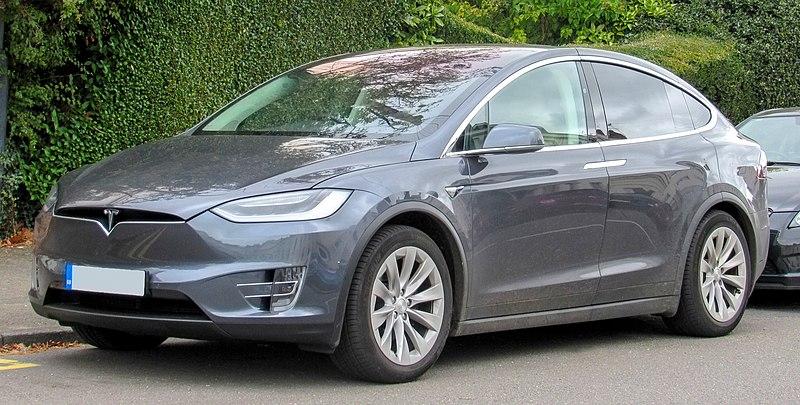 Tesla Model Y Wikipedia: File:2017 Tesla Model X 100D Front.jpg