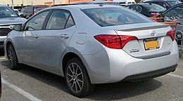 2017 Toyota Corolla SE 50th Anniversary Edition rear 5.20.18.jpg