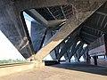 201806 Triangle-shape Pillar at Stadium of Jinhua Sports Center.jpg