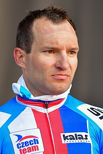 Jan Bárta Czech road cyclist