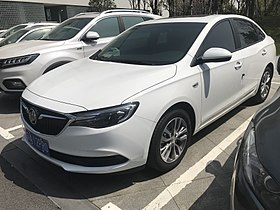2018 Buick Excelle GT front.jpg