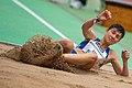 2018 DM Leichtathletik - Dreisprung Frauen - Stefanie Aeschlimann - by 2eight - DSC7069.jpg