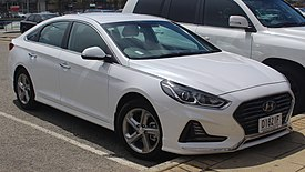 2018 Hyundai Sonata (LF4 MY18) Active 2.4 sedan (2018-10-22) 01.jpg