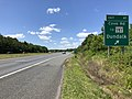 2019-06-14 13 57 24 View north along the Outer Loop of the Baltimore Beltway (Interstate 695) at Exit 41 (Cove Road, TO Maryland State Route 151, Dundalk) in Dundalk, Baltimore County, Maryland.jpg