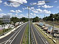 2019-08-25 11 45 52 View north along U.S. Route 1 (Southwestern Boulevard) from the overpass for Interstate 695 (Baltimore Beltway) in Arbutus, Baltimore County, Maryland.jpg