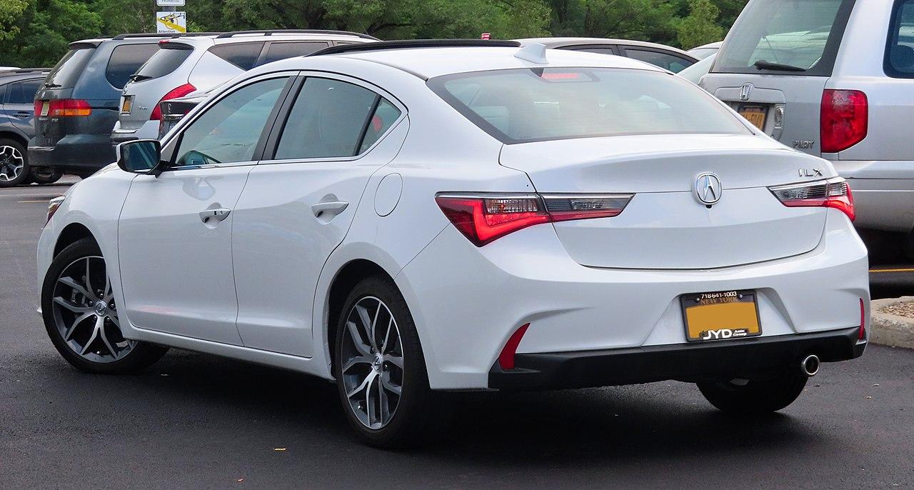 File:2019 Acura ILX 2.4L, Rear 7.6.19.jpg