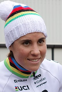 Sanne Cant Belgian cyclist