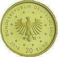 20 Euro Gold Gedenkmünze Deutschland 2016 Nachtigall Wertseite.jpg