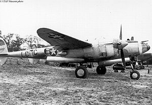 77th Fighter Squadron - 77th Fighter Squadron P-38 (LC-C) at RAF Kings Cliffe, England during World War II.