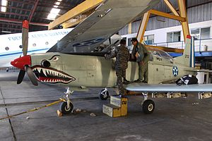 Guatemalan Air Force -  Guatemalan Air Force PC-7.